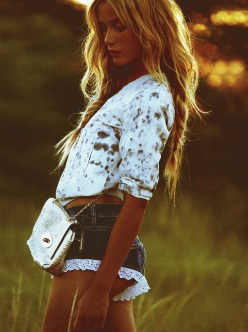 blonde, bohemian, boho, fashion, girl, hair, inspo, laugh, long hair, love, mjk, model, photo, shorts, smile, tan, thin, woman