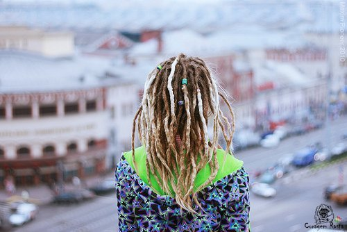 blonde, dreadlocks, dreads, europe, girl, hair, rasta