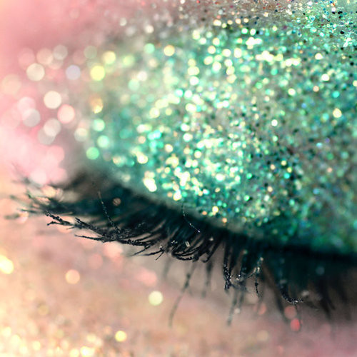 blue, eye, eyelash, eyes, eyeshadow, glitter, green, make up, makeup, sparkle