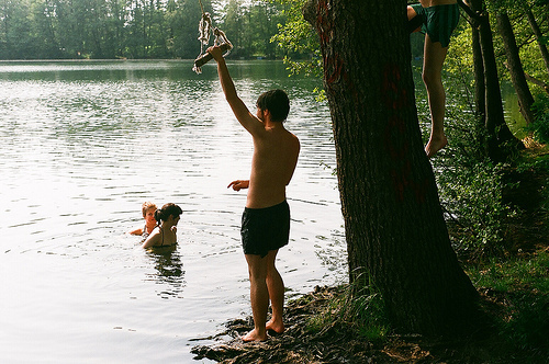 blur, hipster, indie, lake, lomo, spring break, summer, vintage