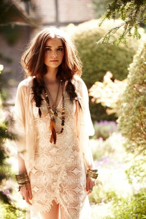 Boho cute fashion girl love - image #255636 on Favim.com