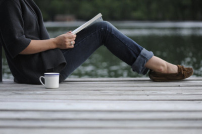 Image result for picture of woman coffee and a book