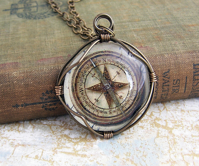 book, compass, indie, map, vintage