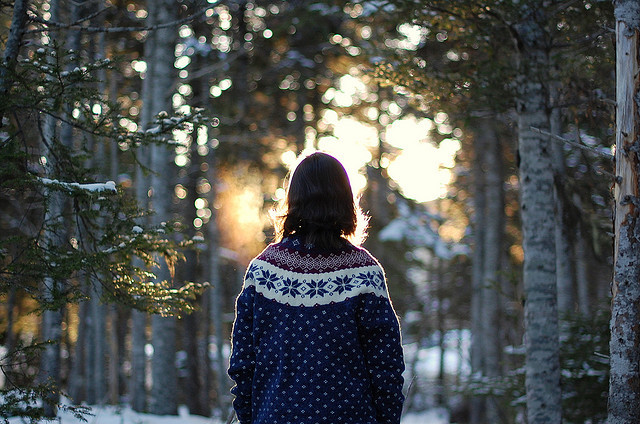 boy, cold, forest, girl, indie