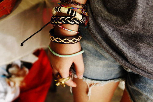 bracelets, cute, fashion, girl, gold