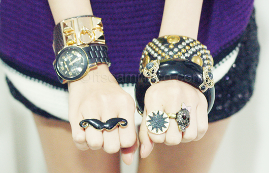 braclets, cute, fashion, gold, jewelery, rings