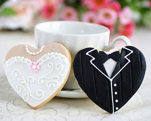 bride, coffee mug, cookie, cookies, cup