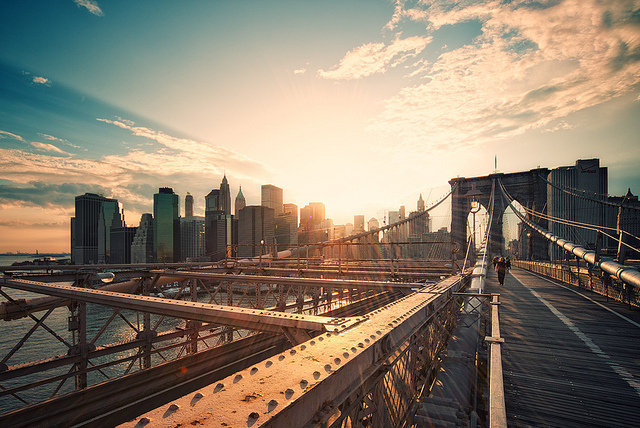 bridge, brooklyn bridge, cool, new york, photography