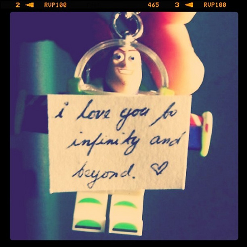 I love you to infinity and beyond | Disney Quotes | Pinterest
