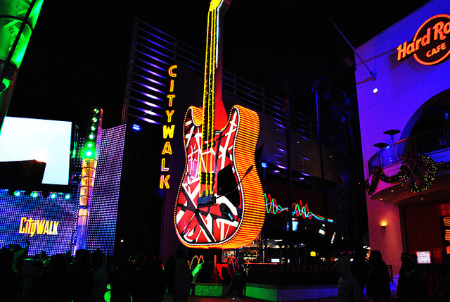 california, city walk, guitar, hard rock cafe, hollywood