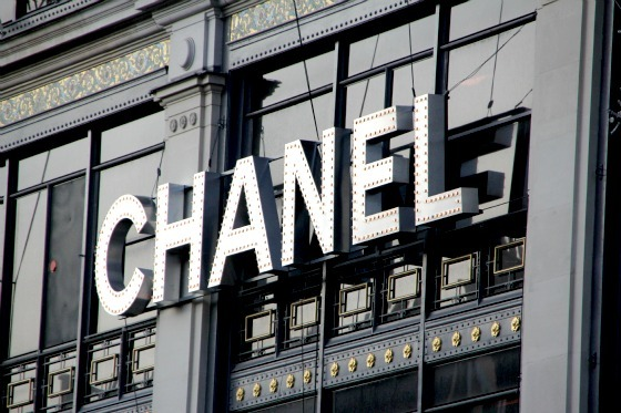 chanel, christmas, decoration, department store, fashion