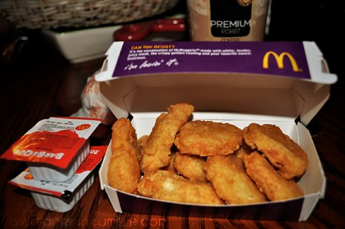 chicken, delicious, food, mcdonalds, photography, t e k a
