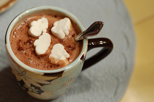 chocolate, christmas, hot chocolate, marshmallows, mug