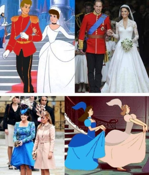 cinderella, prince william, princess kate, royal wedding