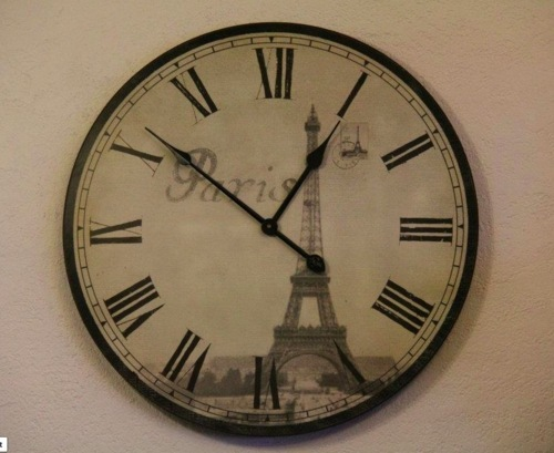 circel, clock, cute, eiffel, eiffeltower