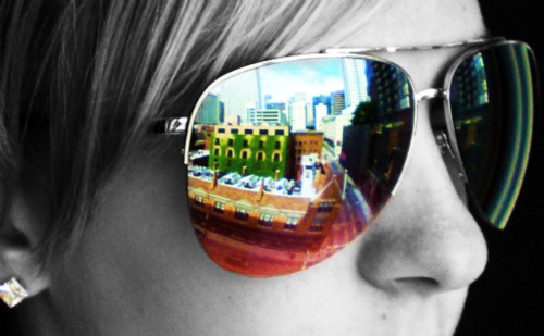 color, colour, girl, photography, sunglasses