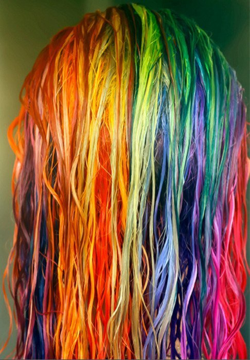 colorful, colors, cute, gimmie now, hair, rainbow, rainbow hair