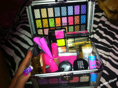 colors, lip gloss, make up, pink, stuff