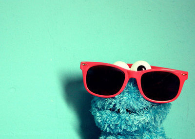 cookie monster, cookies, sesame street, sunglasses