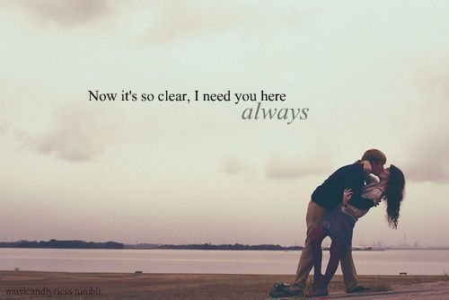 couple, love, quote - image #256298 on Favim.com
