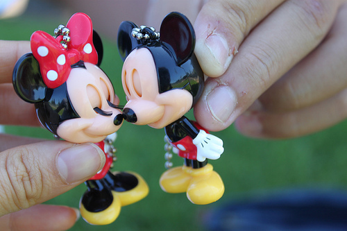 cute, disney, mickey, mickey and minnie, minnie