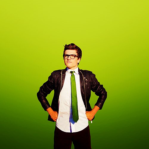 cute, green, josh hutcherson