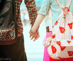 cute, holding hands, korea, korean, korean accessories