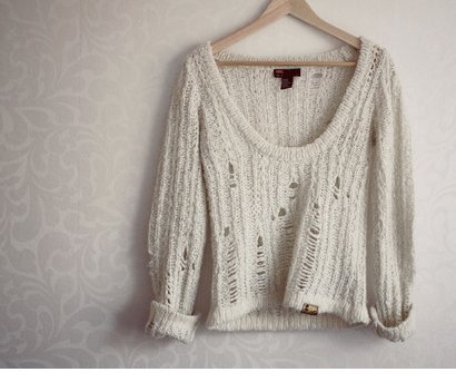 destroyed, fashion, knit, knit sweater, knitwear