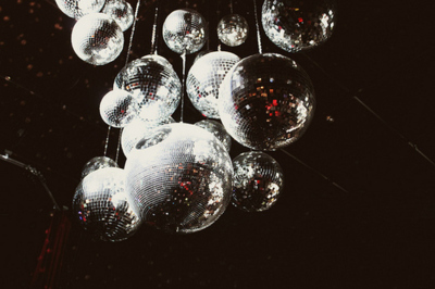 disco balls, party, sparkle