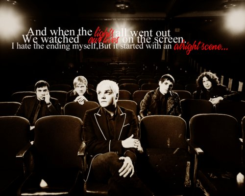 disenchanted, gerard way, lyrics, mcr, music