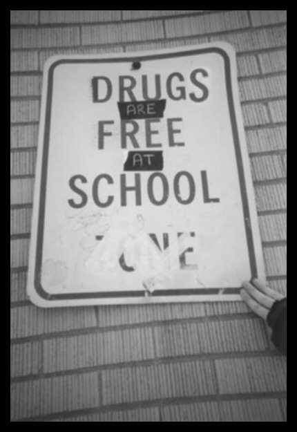 drugs, free, funny, love, saying