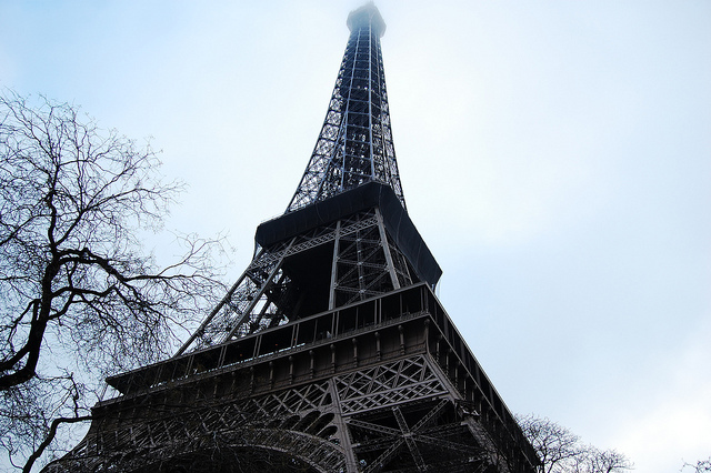 eiffel tower, france, paris, tourist