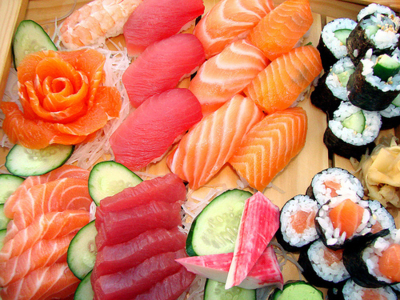 fish, food, japanese, sushi