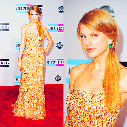 *follow me, ama, ama 2011, beutiful, blond, blue, celebrity, cute, diva, eye, eyes, girl, makeup, pink diva, pretty, swift, taylor, taylor swift