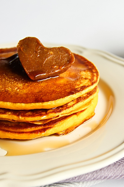 food, heart, maple syrup, pancake, pancakes
