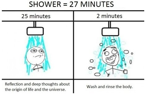 funny, shower, true