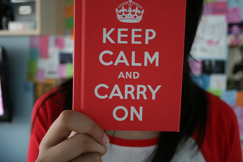 girl, keep calm, keep calm and carry on, photography, random, text