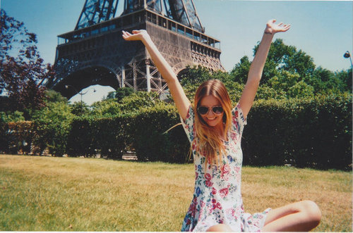 girl, paris, pretty
