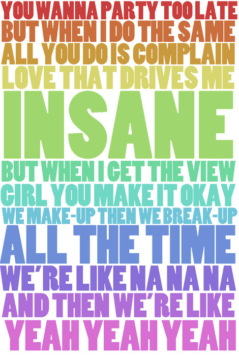 harry styles, liam payne, lyrics, na na na, one direction, quote, quotes, rainbow, up all night