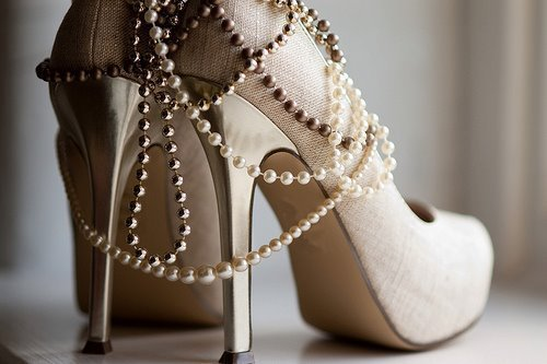 high heels, pearls, stilettos, stylish