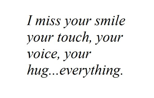 hug, miss, smile, text, touch