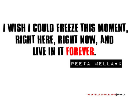 hunger games, peeta, quotes