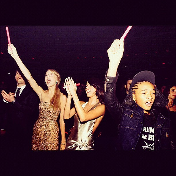 jaden smith, selena gomez, taylor swift
