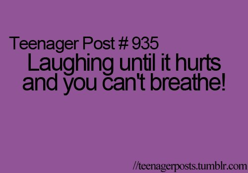 laughing, teenager post, text