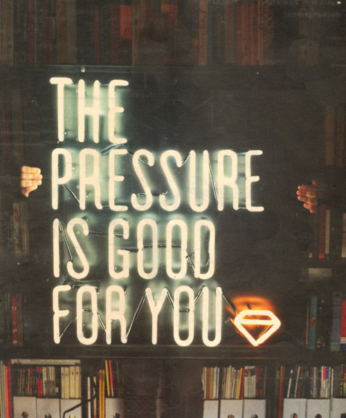 light, neon, neon sign, pressure, quote