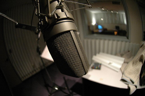 microphone, music, recording, studio, swag