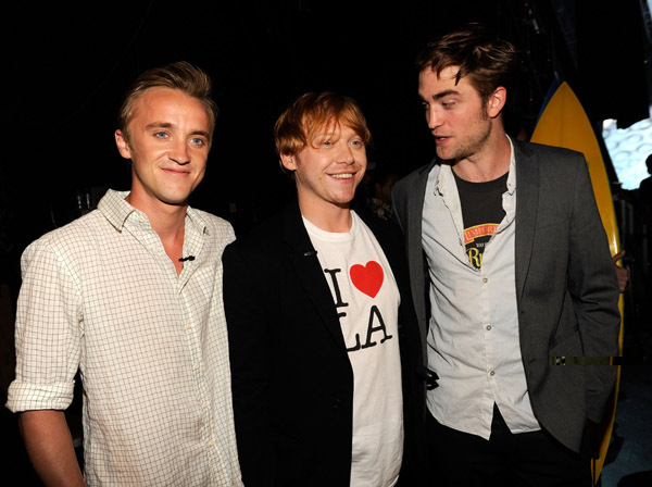 perfect, perfect trio, robert pattinson, rupert grint, tom felton