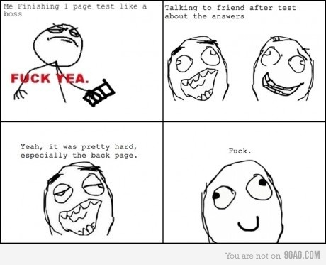 9gag, fml, fuck yeah, lol, test, true
