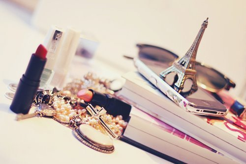 accessories, adorable, beautiful, books, chanel, classy, cute, eiffel tower, fabulous, fantastic, fashion, girly, glasses, jewelry, lipstick, lovely, make up, nice, pearls, phone, ray ban, stuff, style, wonderful