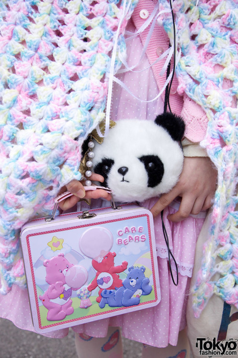 adorable, care bears, cute, kawaii, panda, pastel, photography, pink, tokyo fashion
